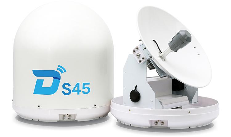 Anten Ditel S45 - Thu tín hiệu Vệ tinh cho tàu biển