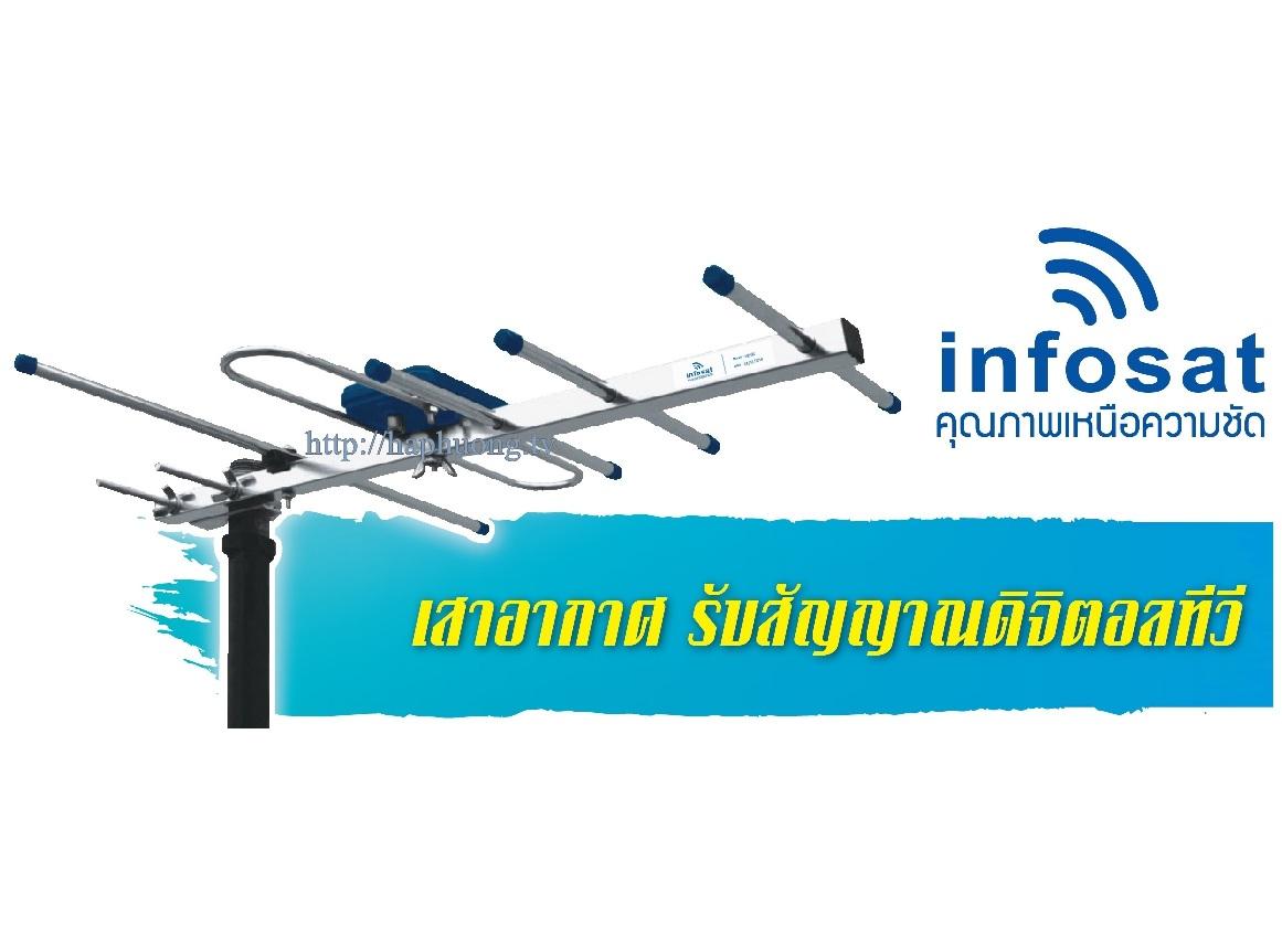 Anten thu sóng kỹ thuật số DVB T2