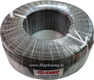 Cáp đồng trục RG6 Sino - lõi đồng