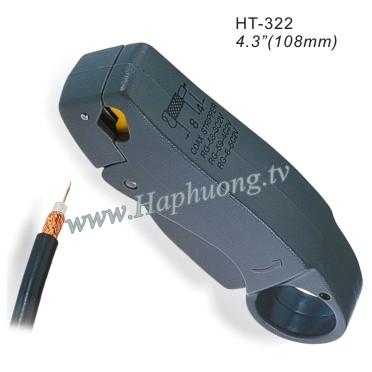 Dao tiện cáp RG11 Hanlong HT-322C1