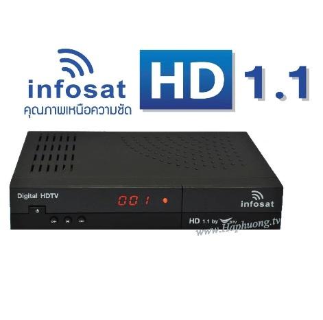 Đầu giải mã Infosat HD1.1
