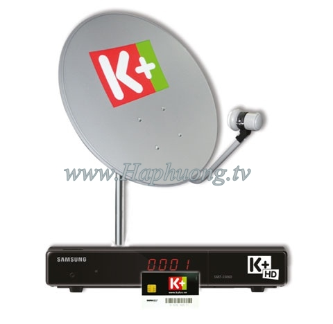 Đầu giải mã K+ HD Samsung SMT S5060