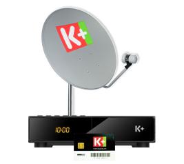 Đầu giải mã K+ SD SmarDTV