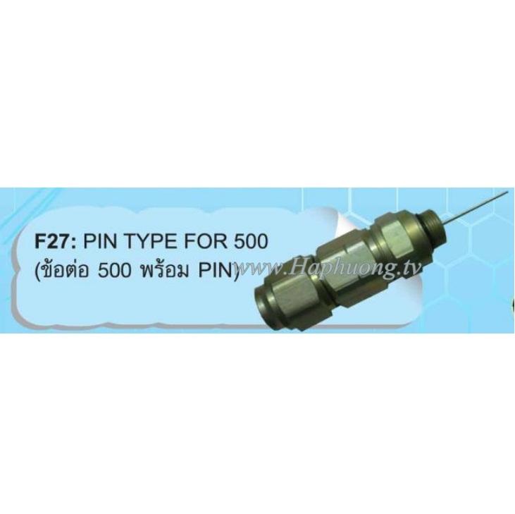 Đầu nối QR540 PIN connector