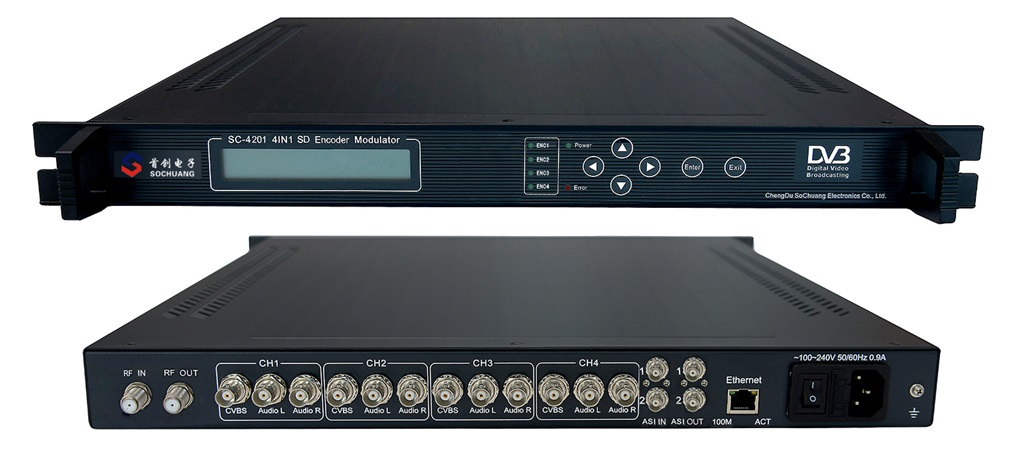 Điều chế DVB T: SC-4201