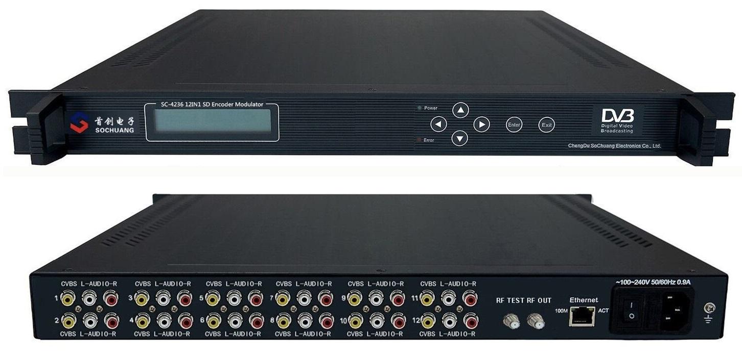 Điều chế DVB T: SC-4236