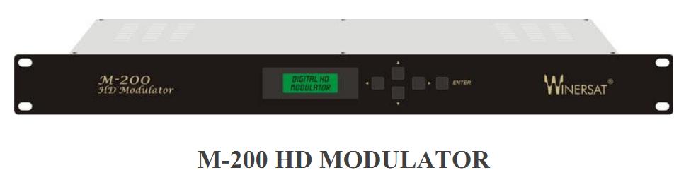 Điều chế RF số DVB-C Winersat M-200