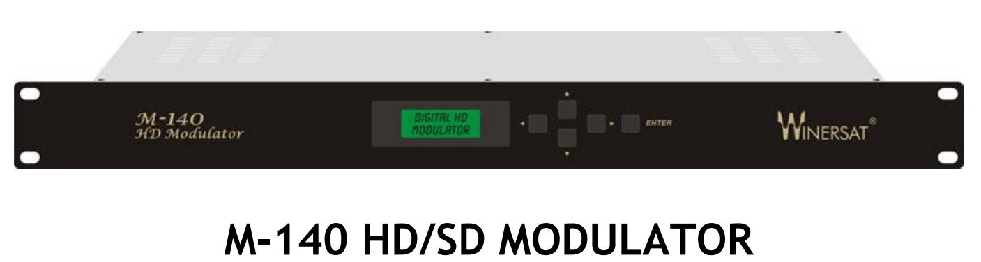Điều chế RF số DVB-T/C Winersat M-140