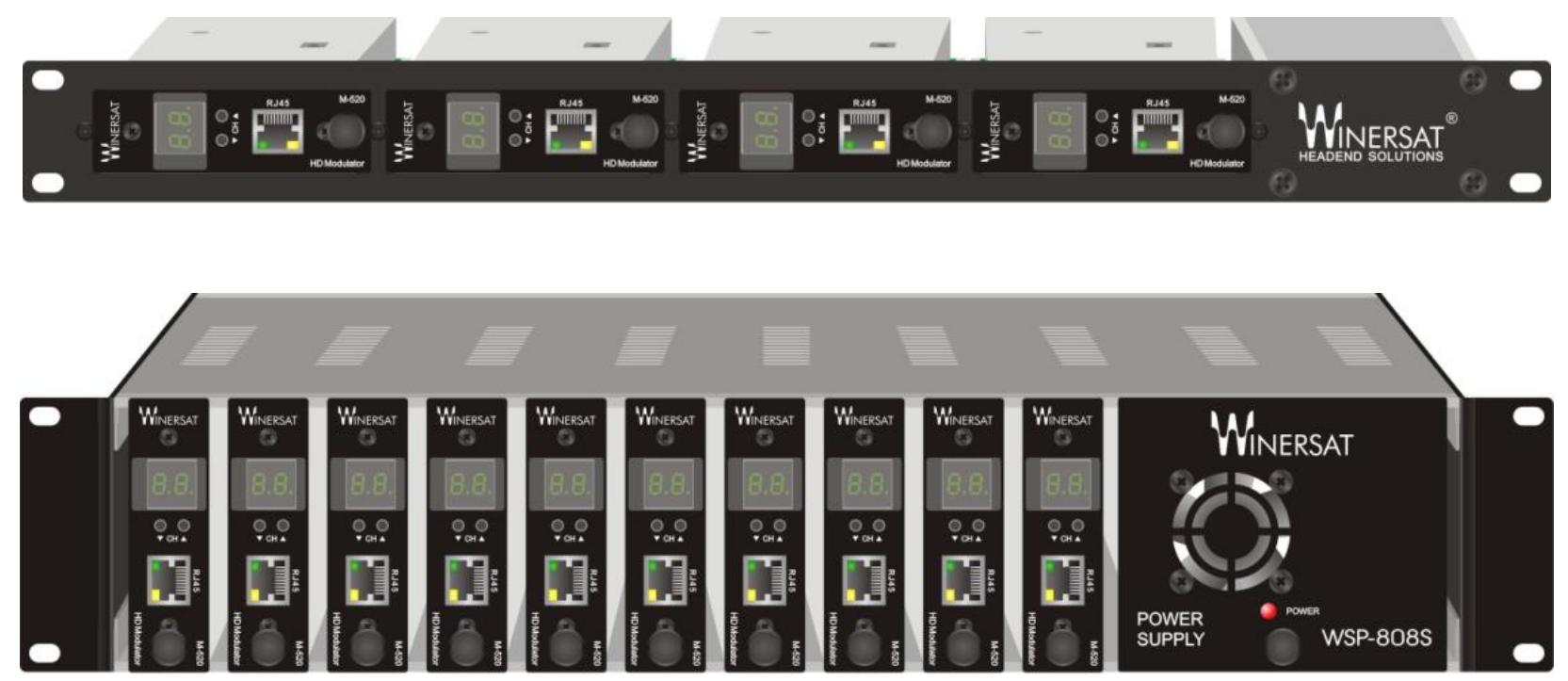 Điều chế RF số DVB-T/C Winersat M-520