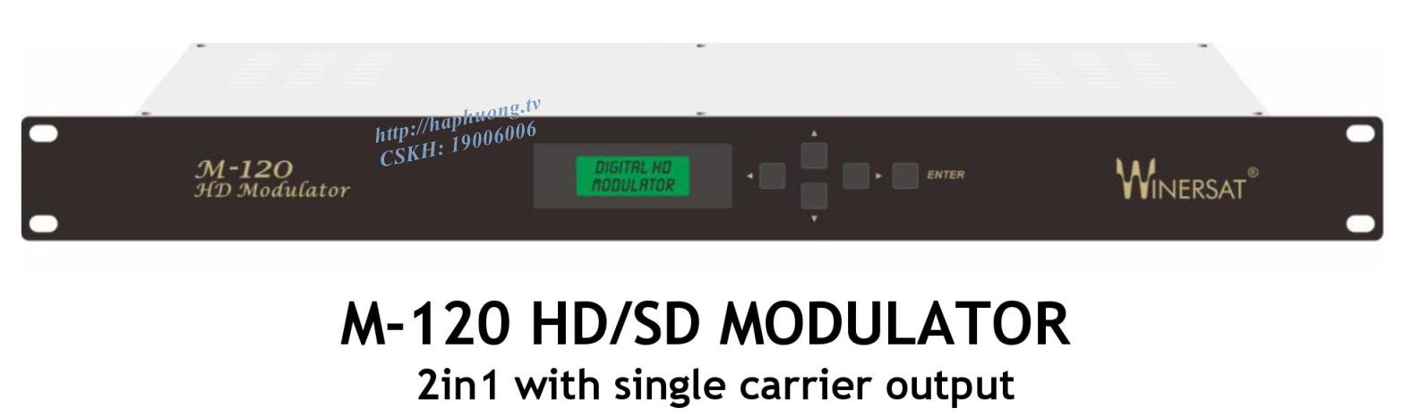 Điều chế số DVB T/C Winersat M-120
