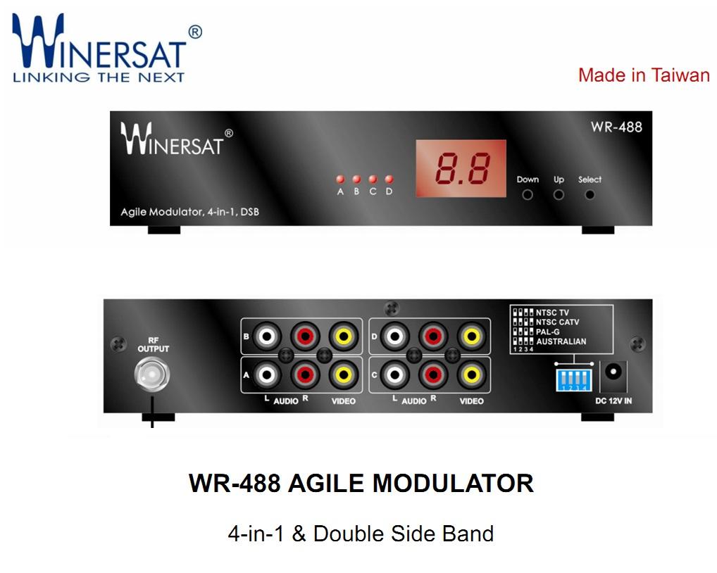 Điều chế tín hiệu AV-RF Winersat WR-488