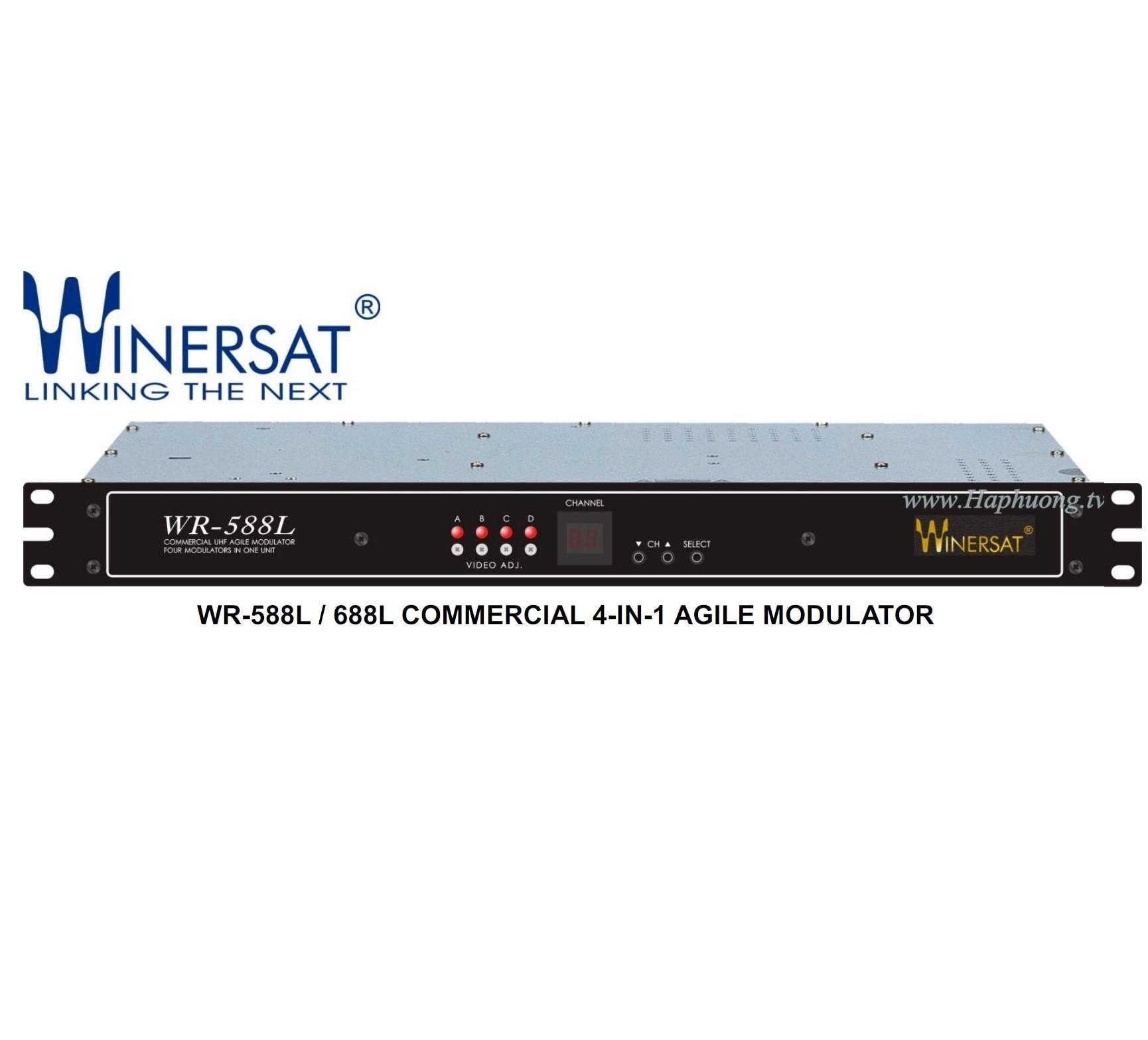 Điều chế Winersat WR588L/688L