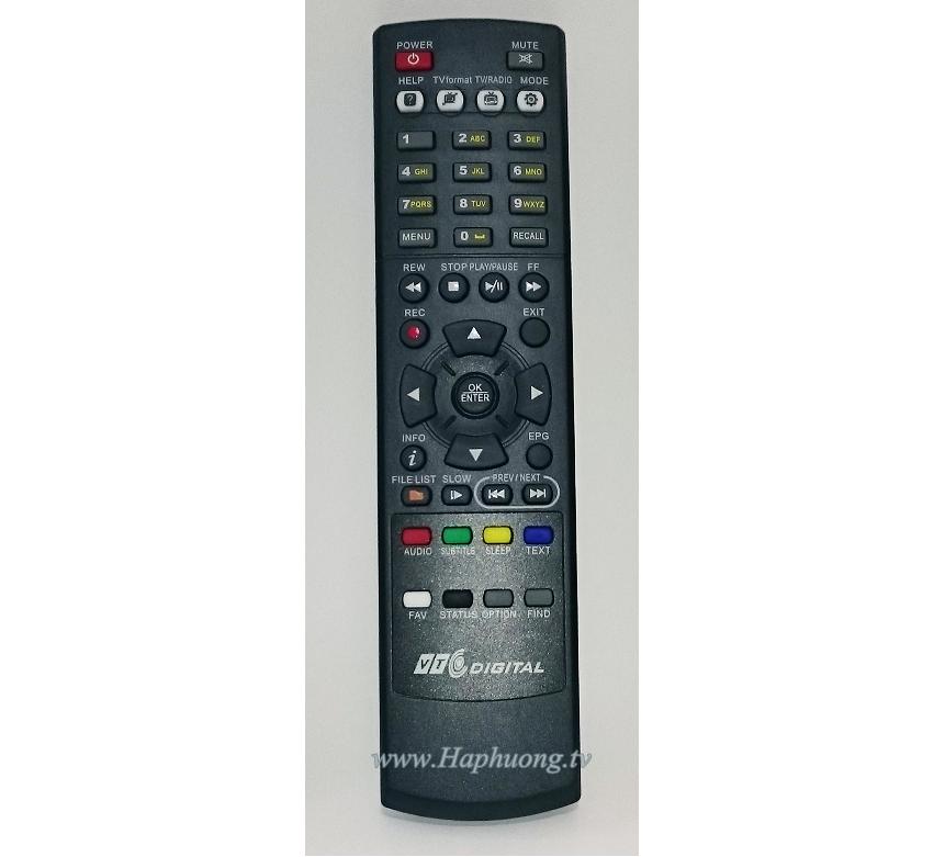 Điều khiển đầu thu VTC HD 05