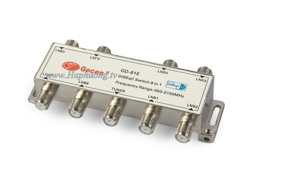 DiSEqC Switch 8x1 Gecen