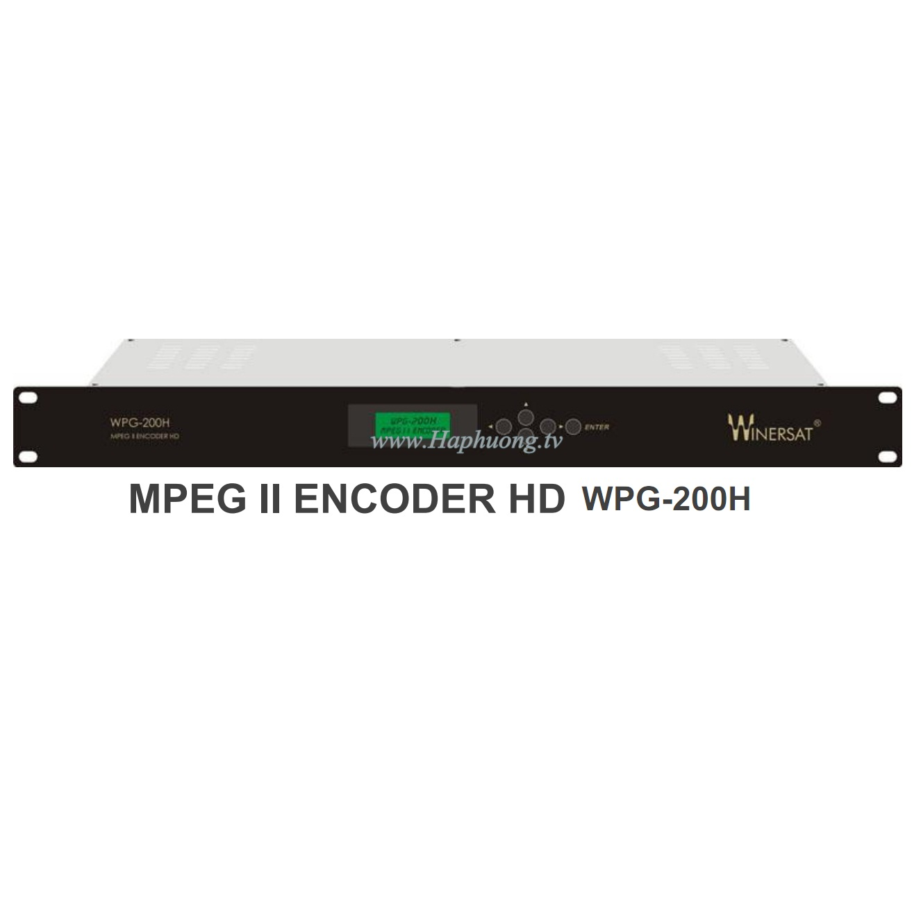 Encoder MPEG 2 HD Winersat WPG-200H