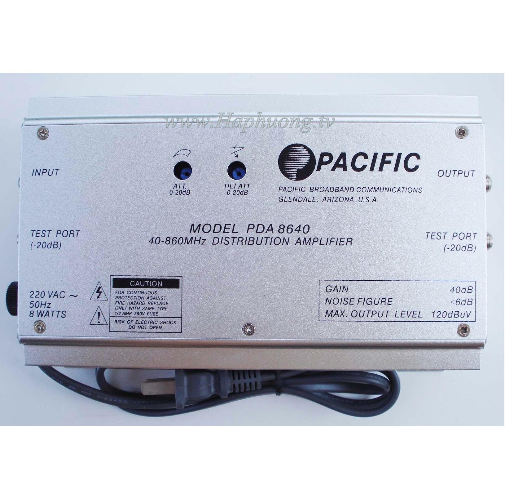 Khuếch đại Pacific PDA8640