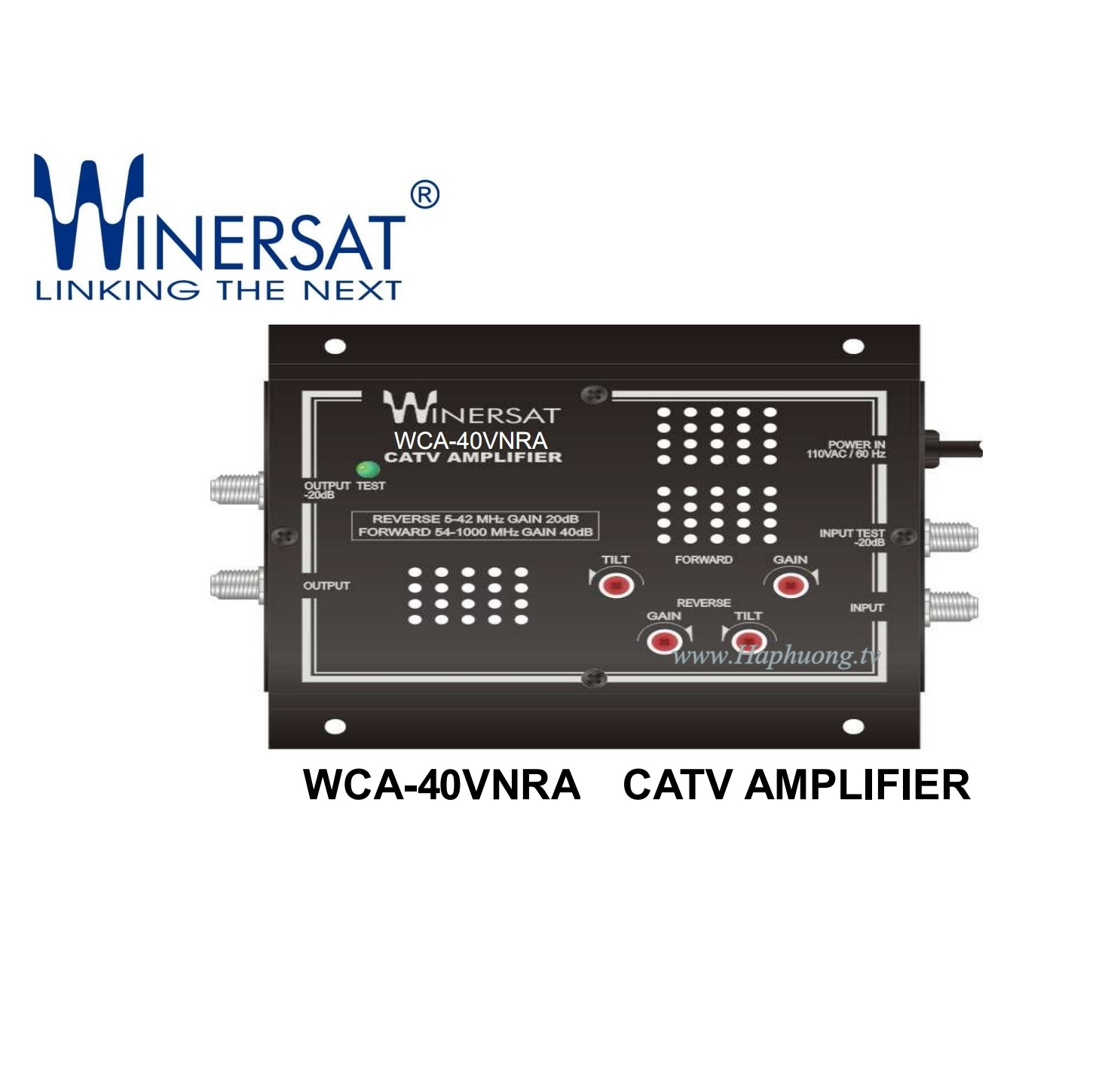 Khuếch đại Winersat WCA-40VNRA