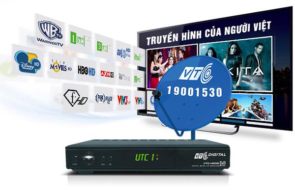Lắp Truyền hình KTS Vệ Tinh VTC