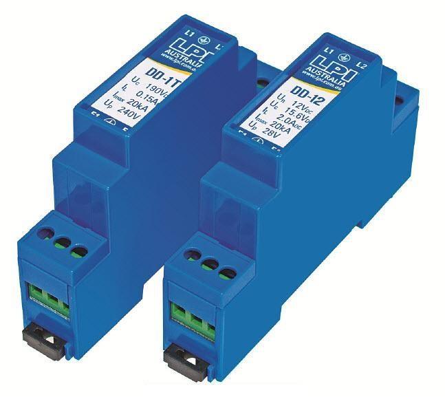 LPI DD-1T chống sét 1 đôi dây điện thoại