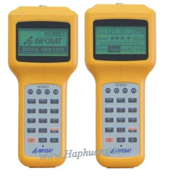 Máy đo TH truyền hình cáp số Infosat  HT-8553