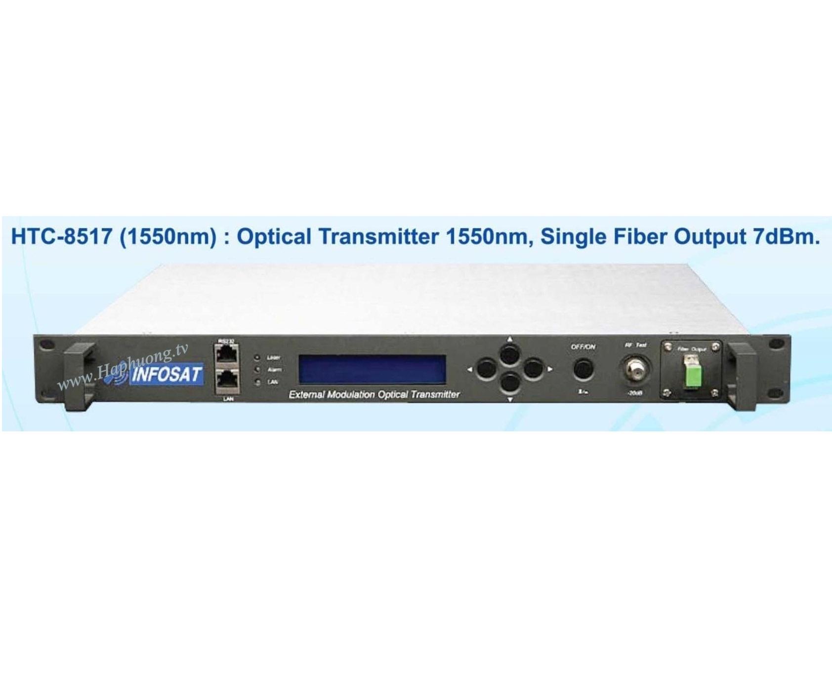 Máy phát quang 1550nm Infosat HTC-8517