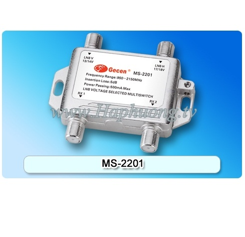 Multiswitch Gecen MS-2201