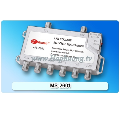 Multiswitch Gecen MS-2601