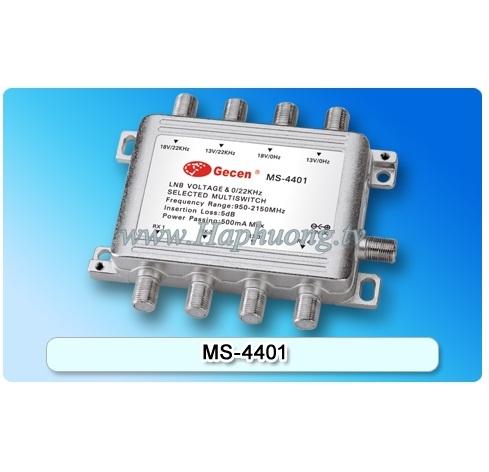 Multiswitch Gecen MS-4401