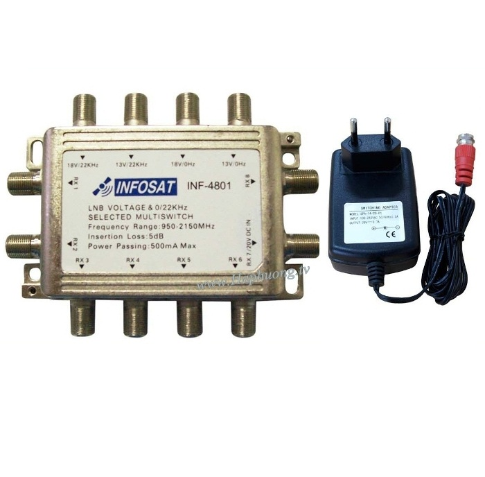 Multiswitch Infosat INF-4801