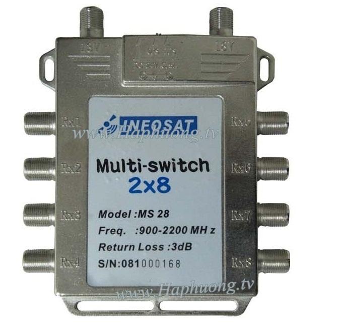 Multiswitch Infosat INF-MS28