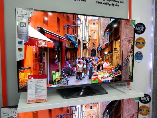 """""""Ông lớn"""" điện tử đưa 419 model tivi số tích hợp DVB-T2 vào thị trường Việt"""