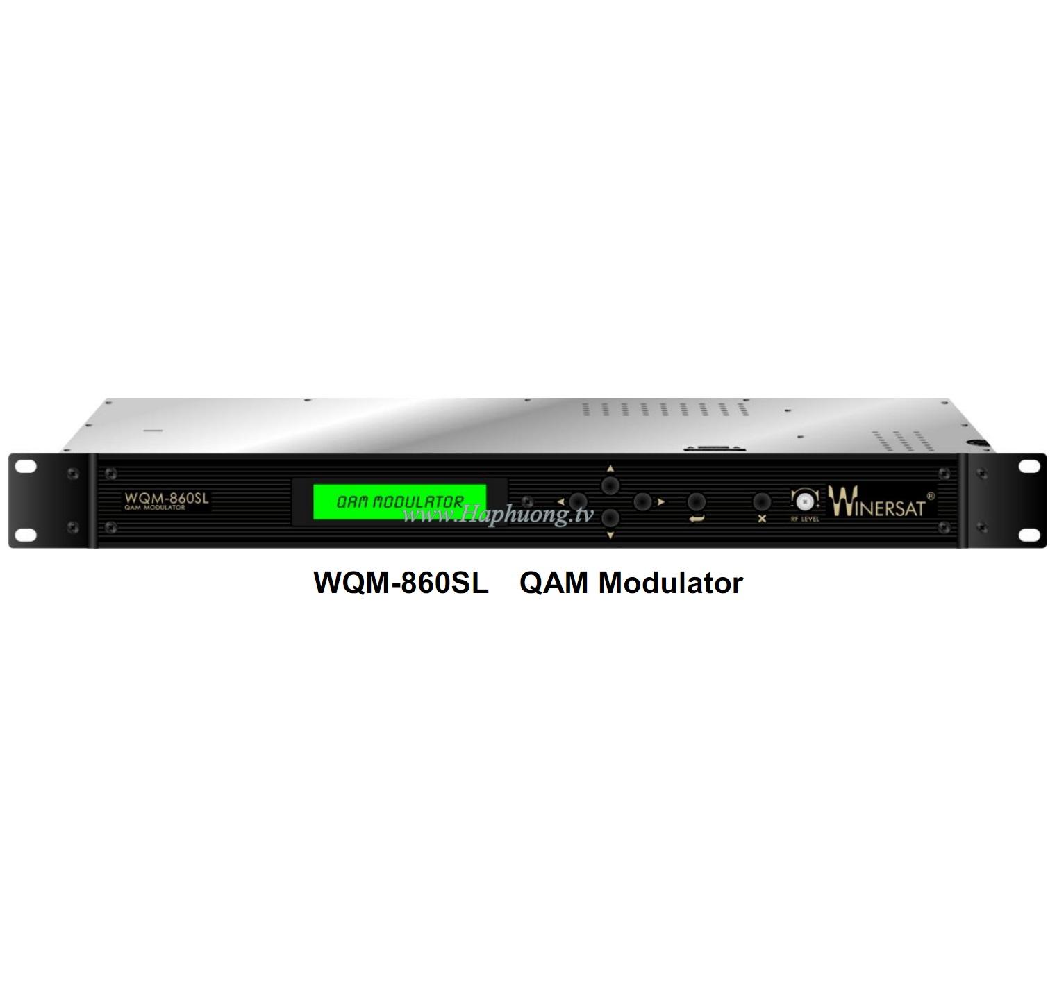 QAM Modulator Winersat WQM-860SL
