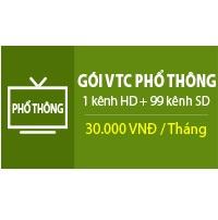 Truyền hình KTS VTC : gói phổ thông